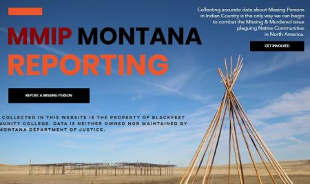 Website to compile MMIP cases launched by Blackfeet Community College